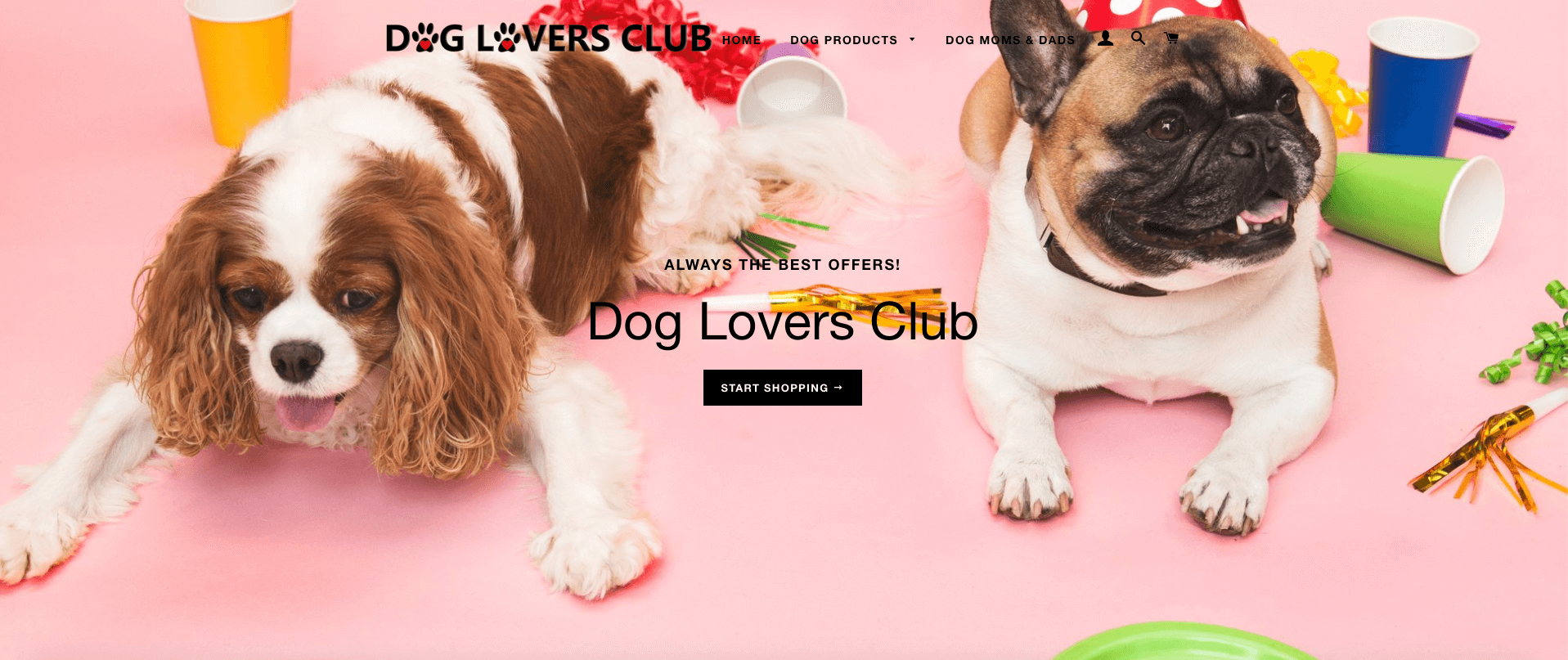 Shopify Dog Stores