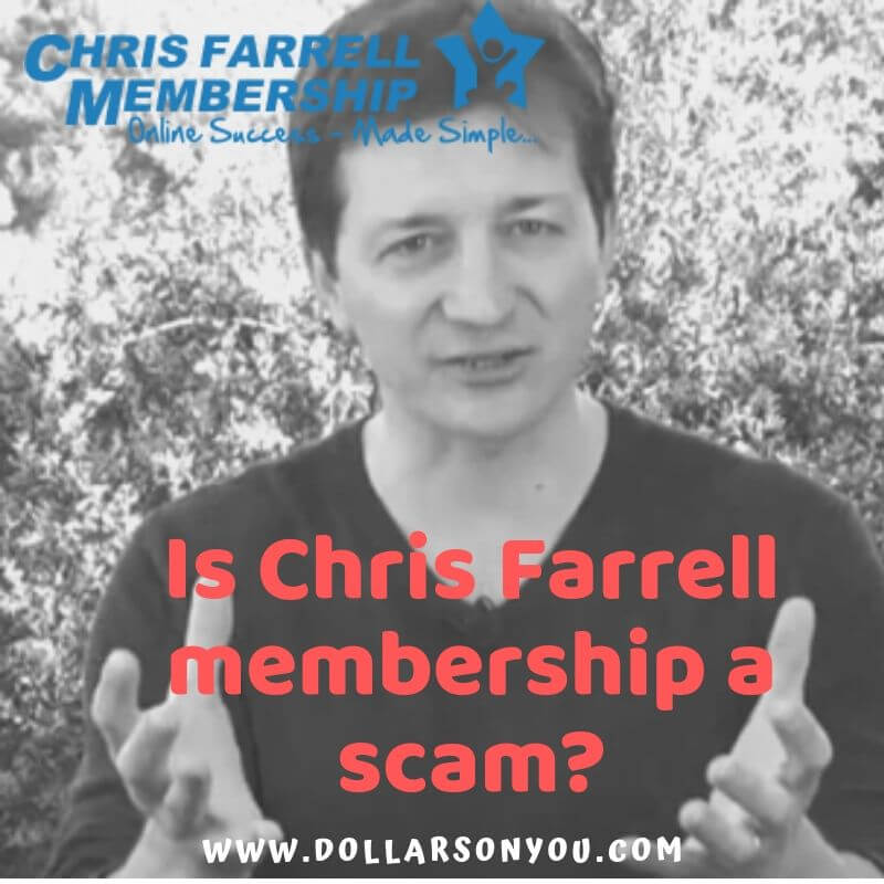 is chris farrell membership a scam