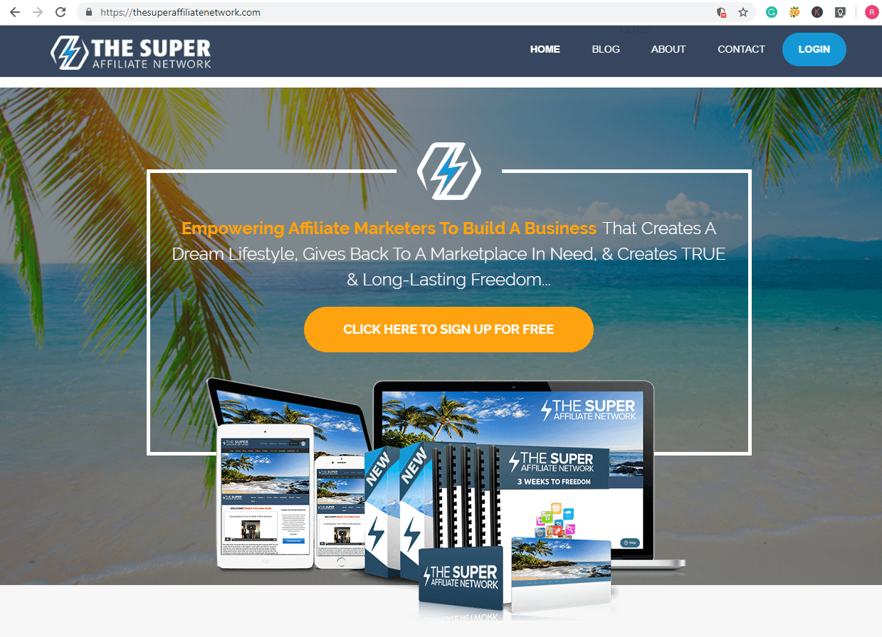 the super affiliate network review