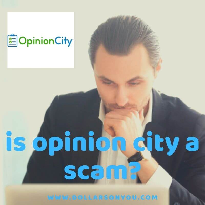 is opinion city a scam