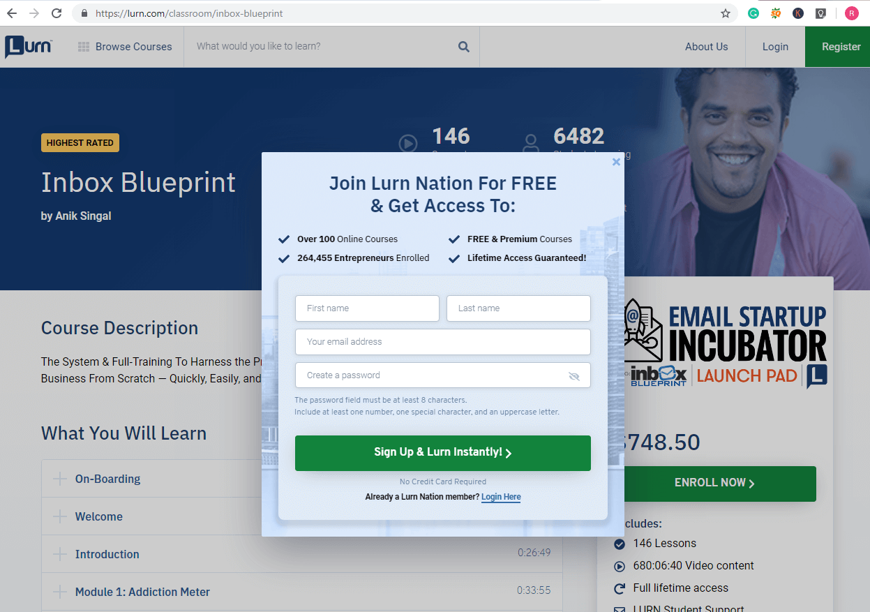 is inbox blueprint a scam